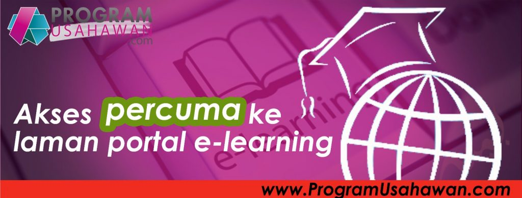 E-learning Program Usahawan