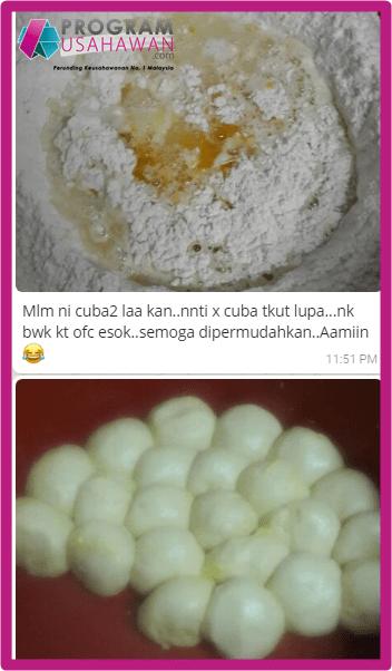 Kursus pembuatan roti canai