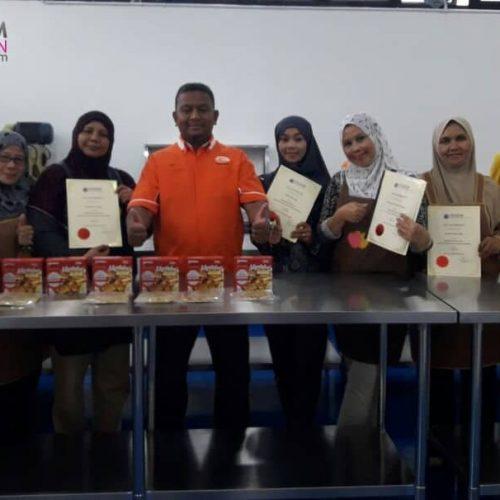 Kursus Frozen Food Roti Canai Malaysia