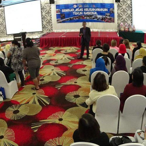 Seminar Usahawan Tekun Nasional -Bintulu
